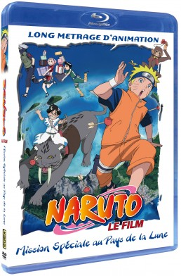Naruto les Films > BLU RAY - Naruto le film 3 - Mission Spéciale au Pays de la Lune