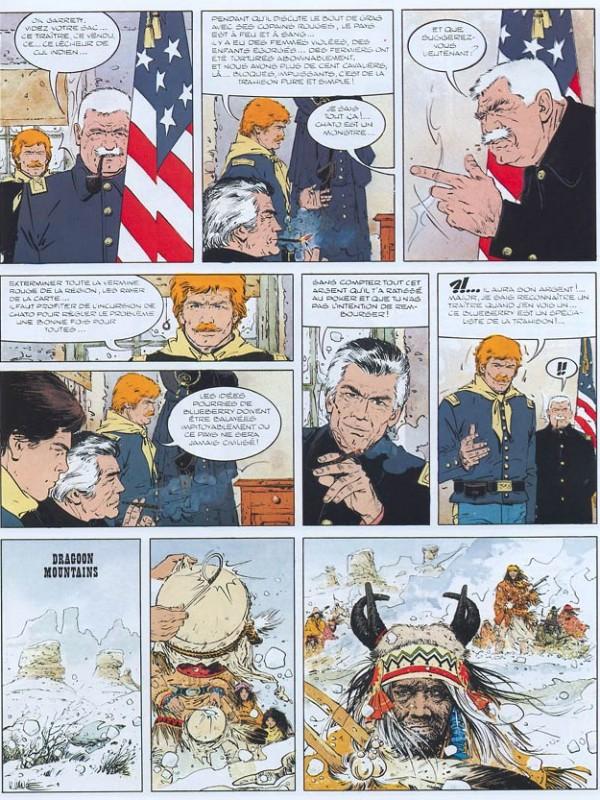 Blueberry, Sur ordre de Washington, GIRAUD/VANCE, bd, Dargaud éditeur, bande dessinée