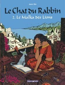 cover-comics-le-chat-du-rabbin-tome-2-malka-des-lions-le