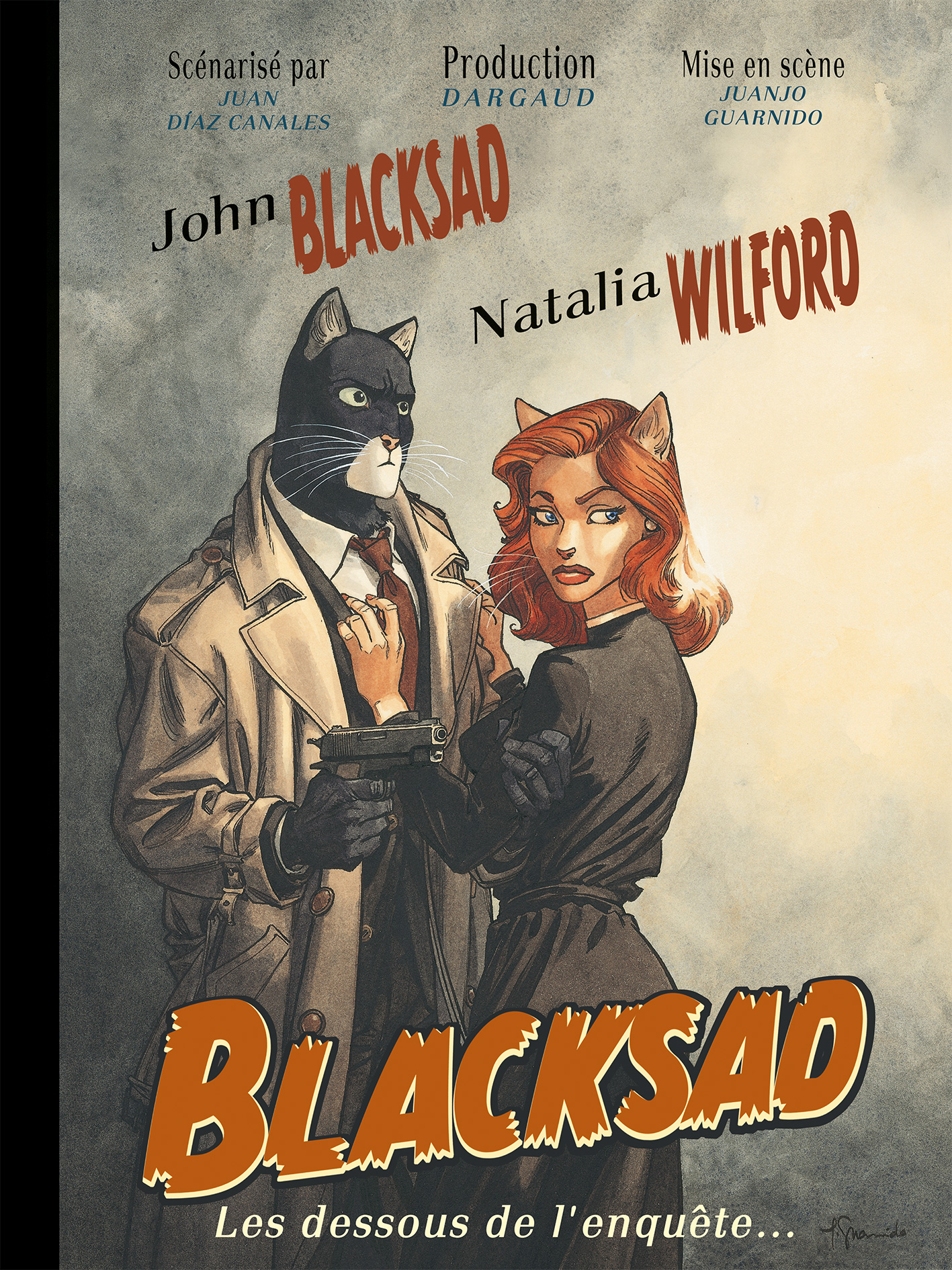 blacksad hors s rie tome 0 dessous de l 39 enqu te les bd ditions dargaud. Black Bedroom Furniture Sets. Home Design Ideas