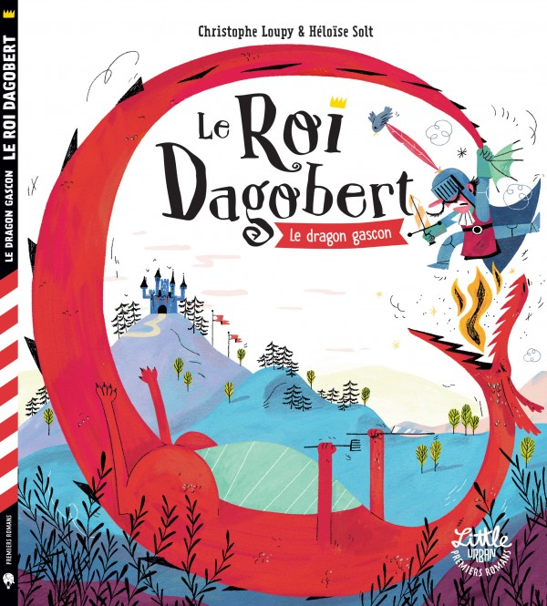 cover-comics-le-roi-dagobert-tome-1-le-roi-dagobert-et-le-dragon-gascon