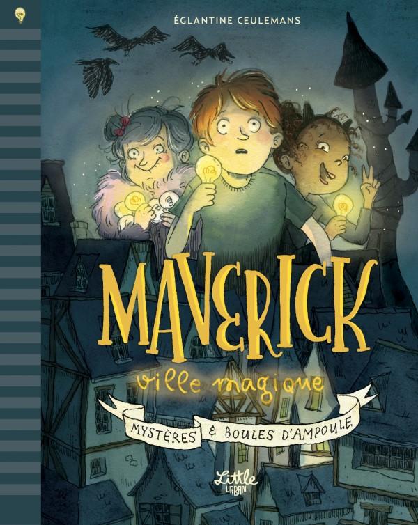 cover-comics-maverick-tome-0-maverick-ville-magique-mystre-amp-boules-d-8217-ampoule