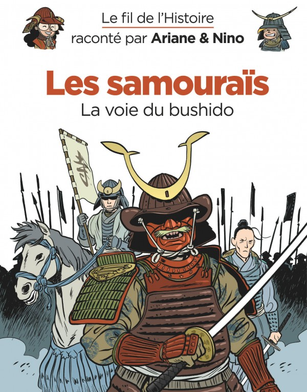 cover-comics-le-fil-de-l-8217-histoire-racont-par-ariane-amp-nino-tome-18-les-samouras