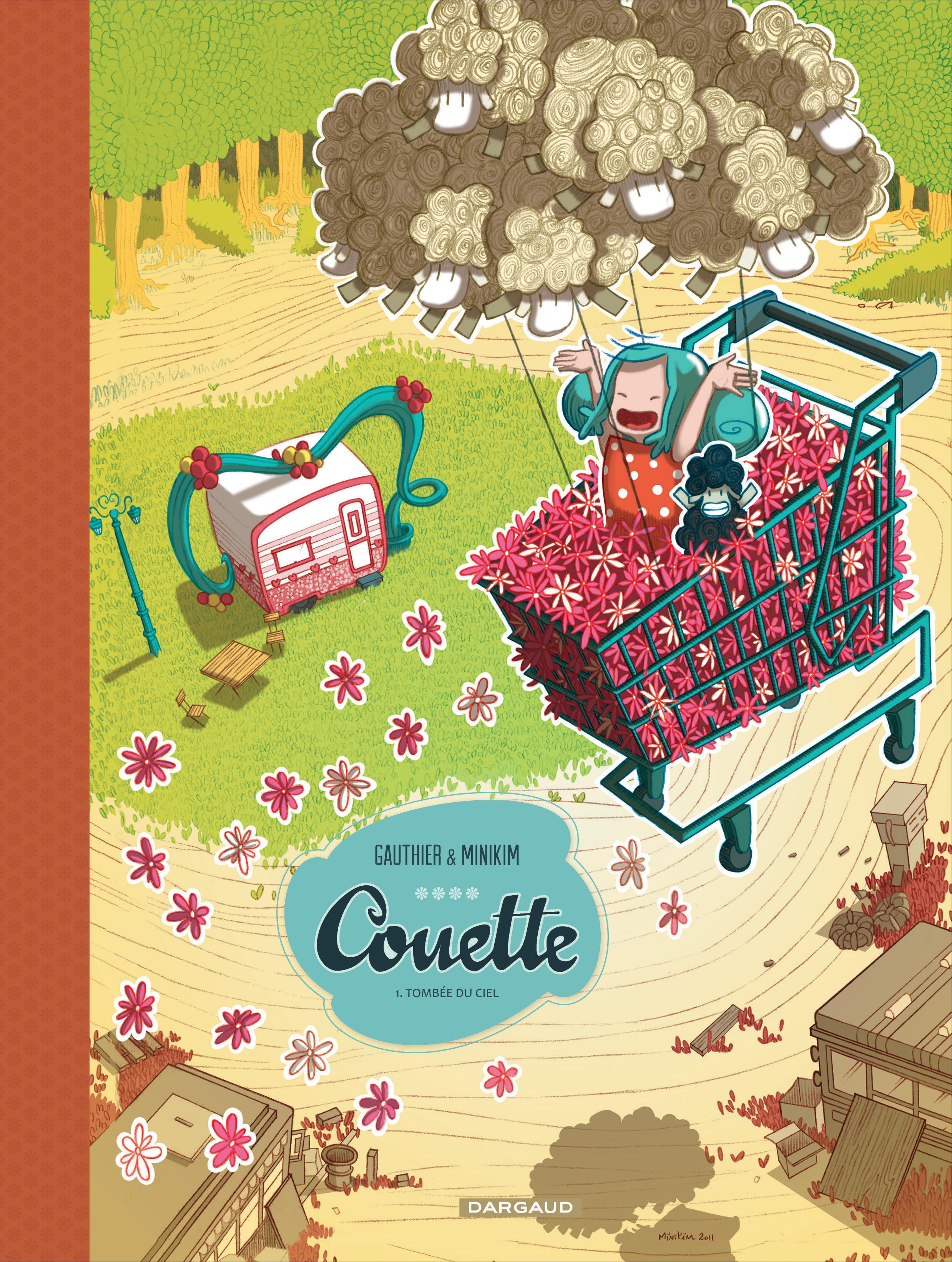 Couette Tome 1 Tombée Du Ciel Bd éditions Dargaud