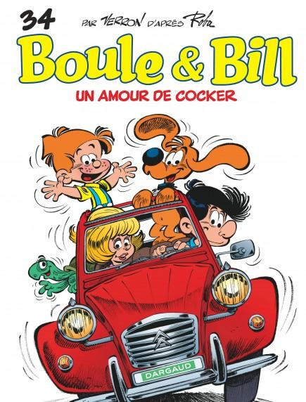 Boule et Bill - Un Amour de cocker