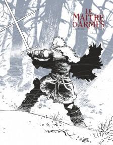 cover-comics-le-matre-d-8217-armes-tome-1-le-matre-d-8217-armes-8211-one-shot-version-n-b
