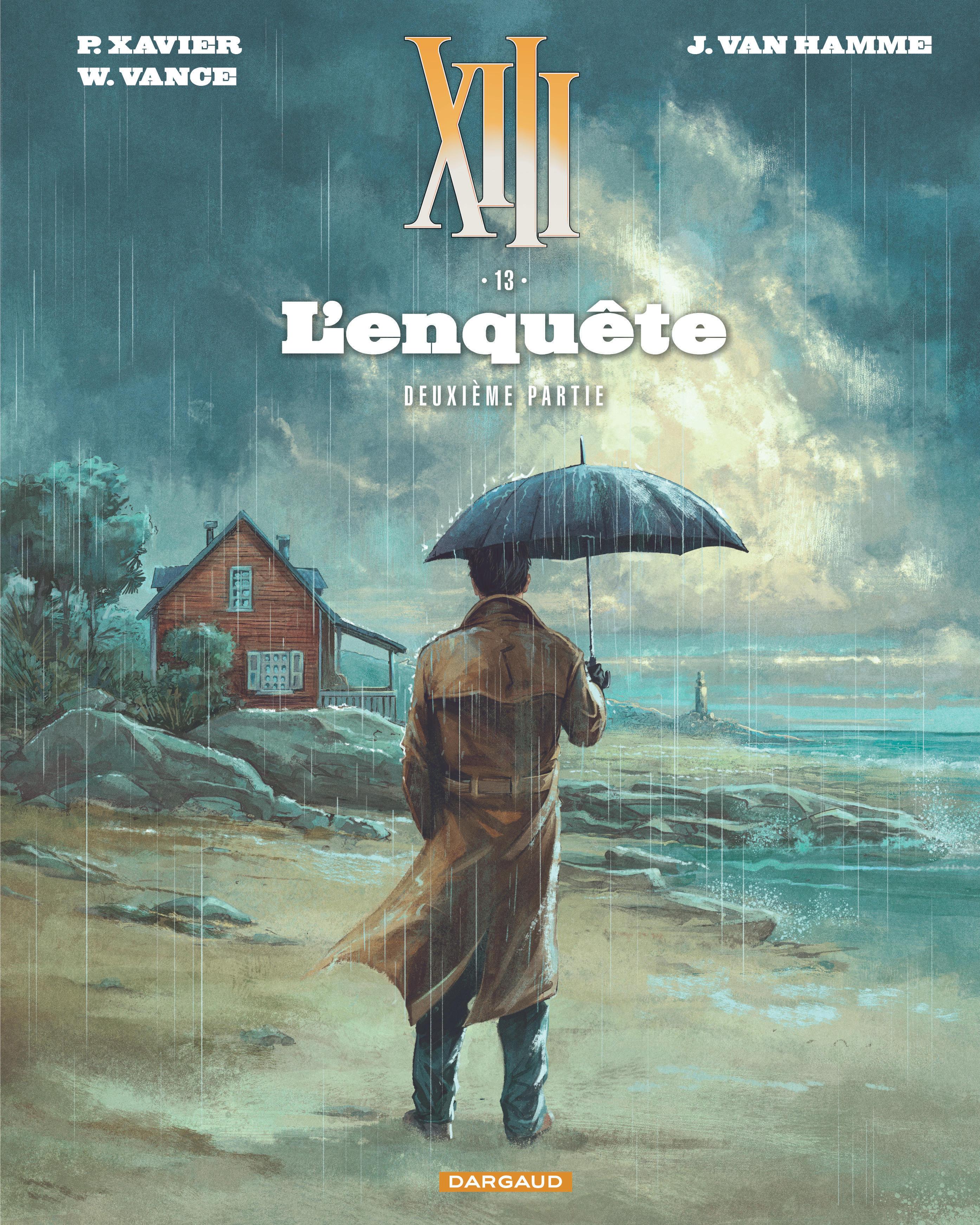 XIII - Nouvelle collection Tome 13, L'enquête - deuxième partie - BD  Éditions Dargaud