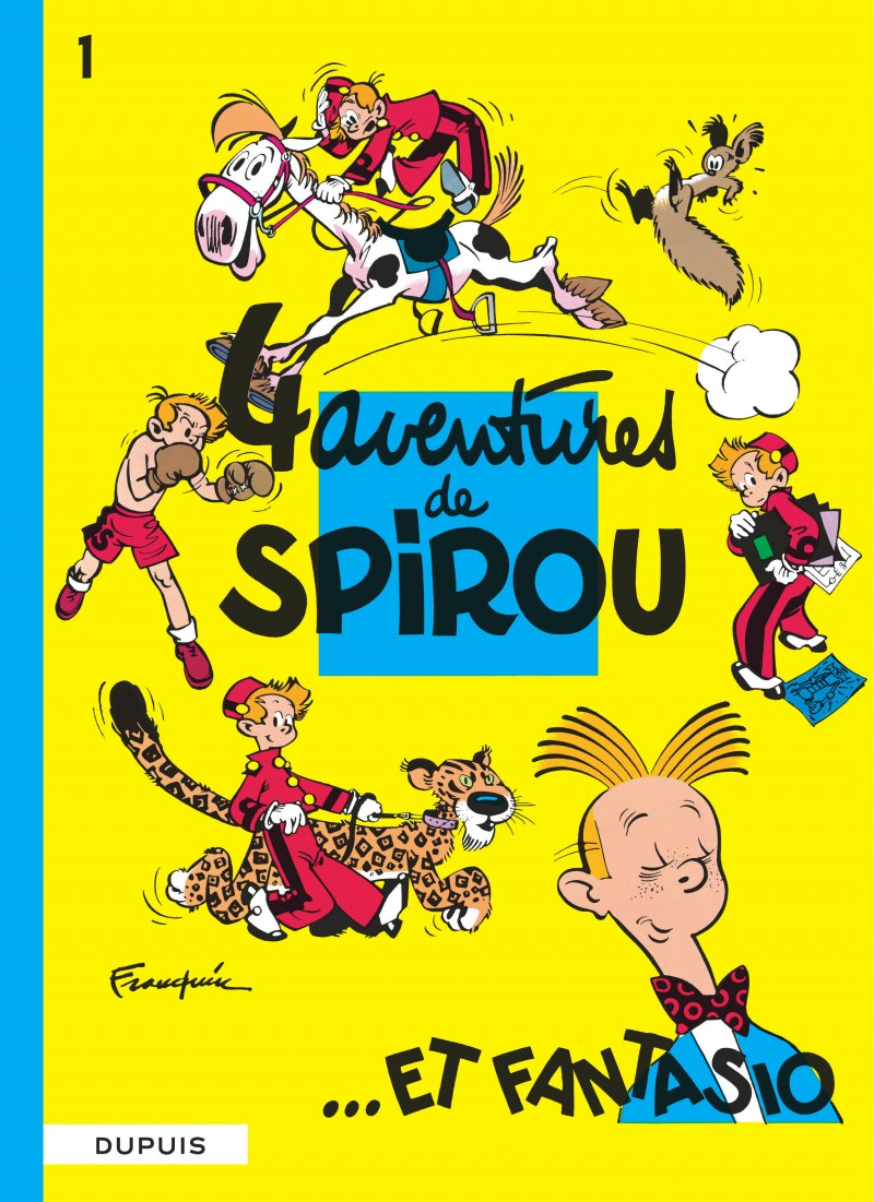 Spirou and Fantasio - tome 1 - Quatre aventures de Spirou et Fantasio