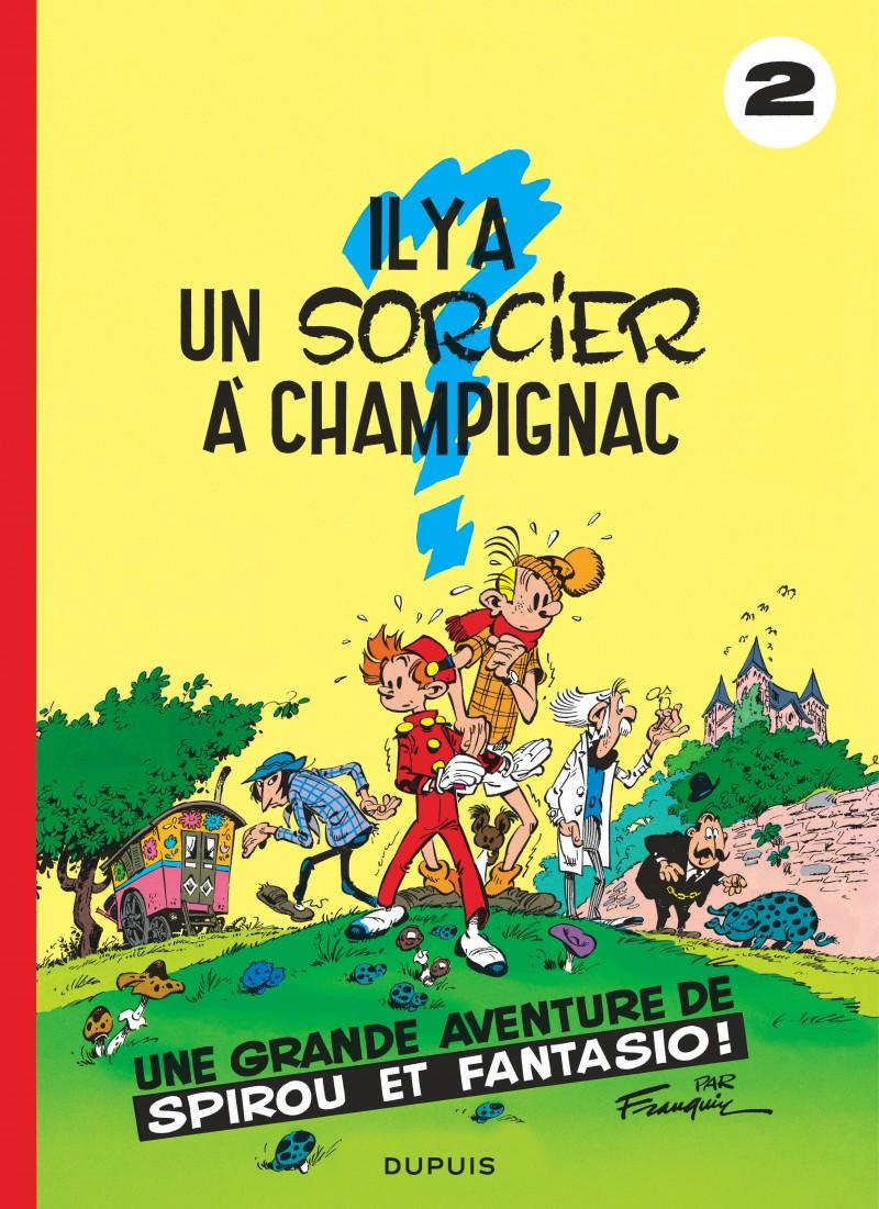 Spirou and Fantasio - tome 2 - Il y a un sorcier à Champignac