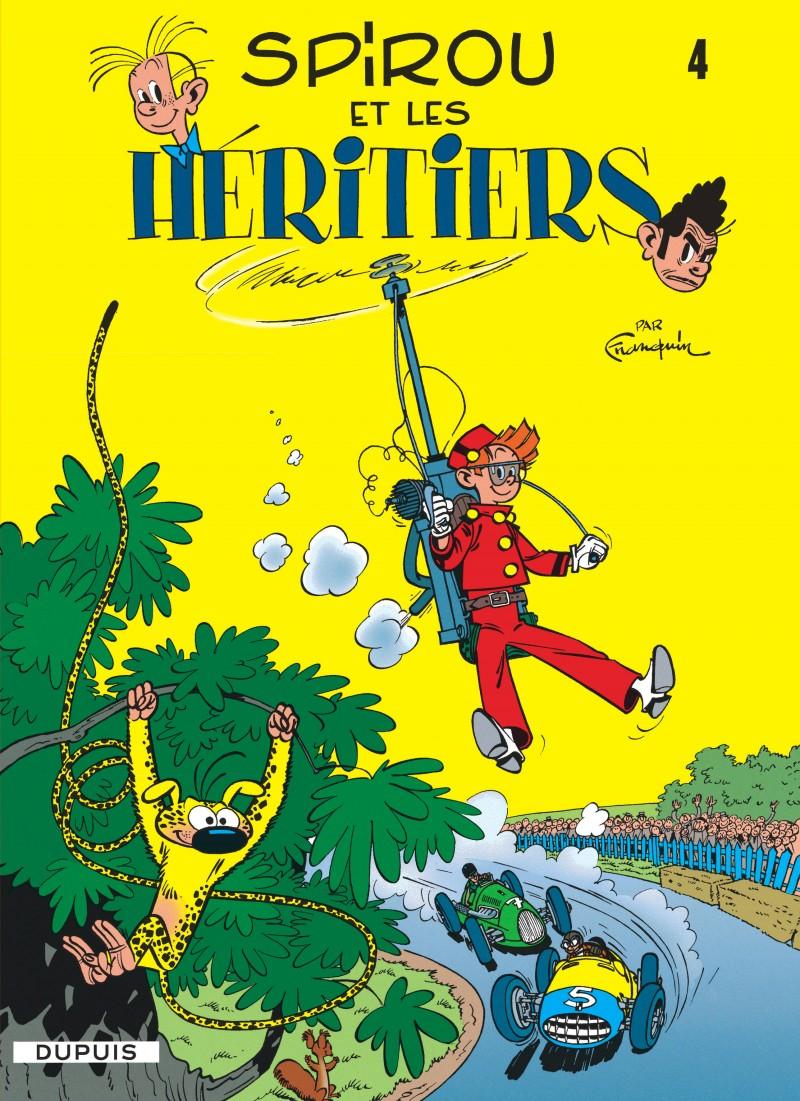 Spirou and Fantasio - tome 4 - Spirou et les héritiers