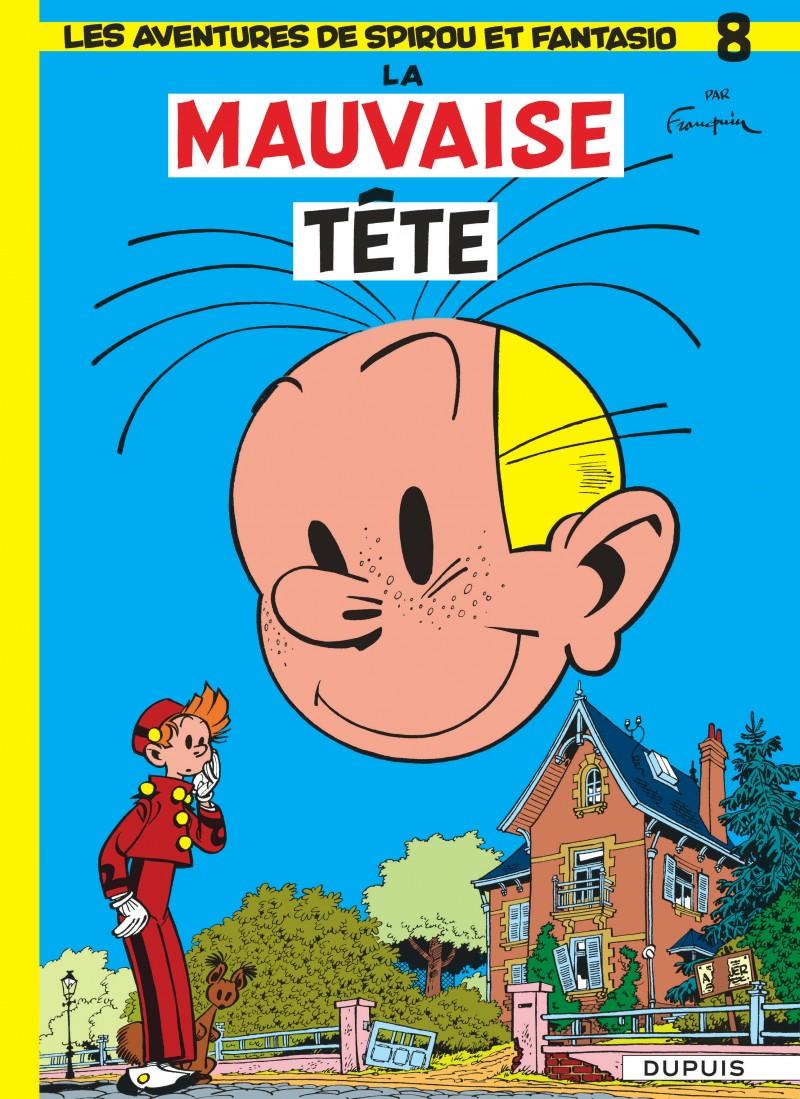 Spirou and Fantasio - tome 8 - La Mauvaise tête