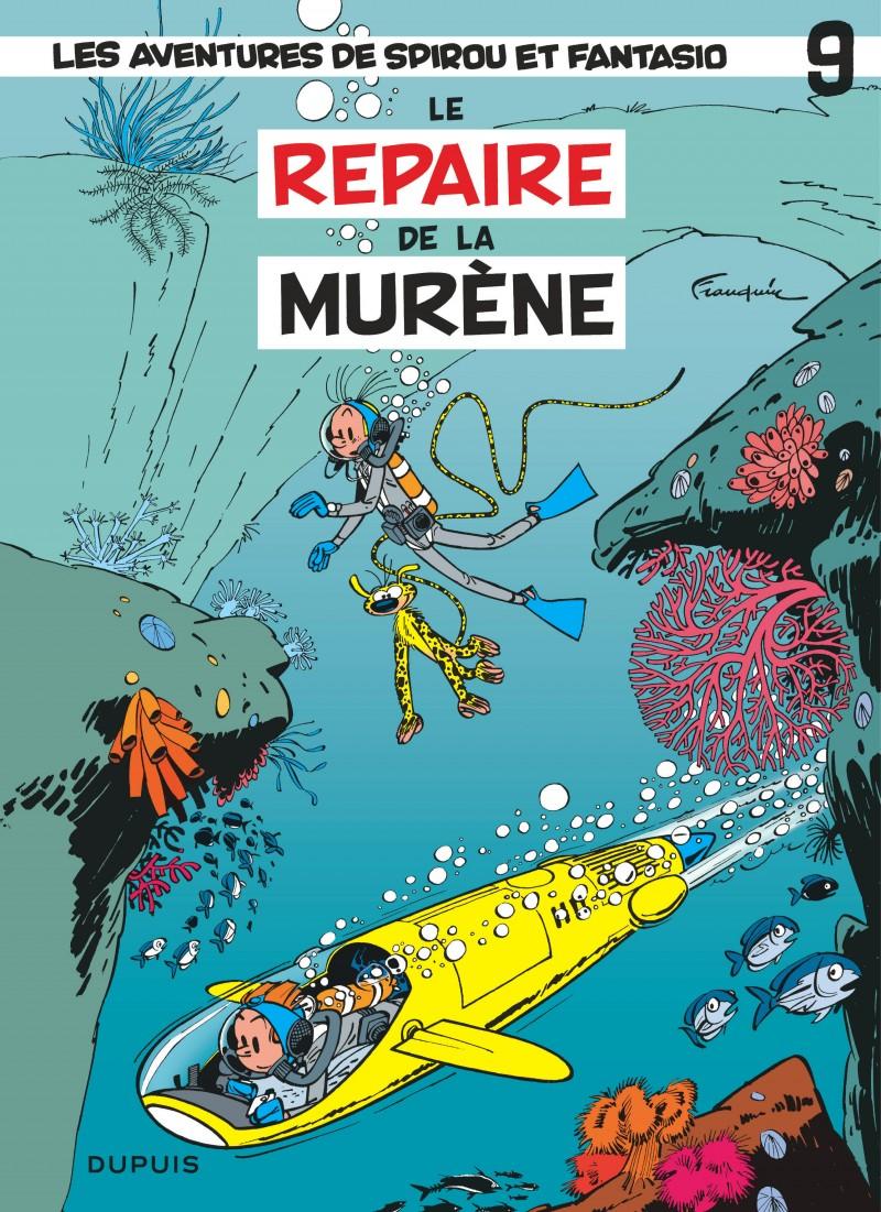 Spirou and Fantasio - tome 9 - Le Repaire de la murène