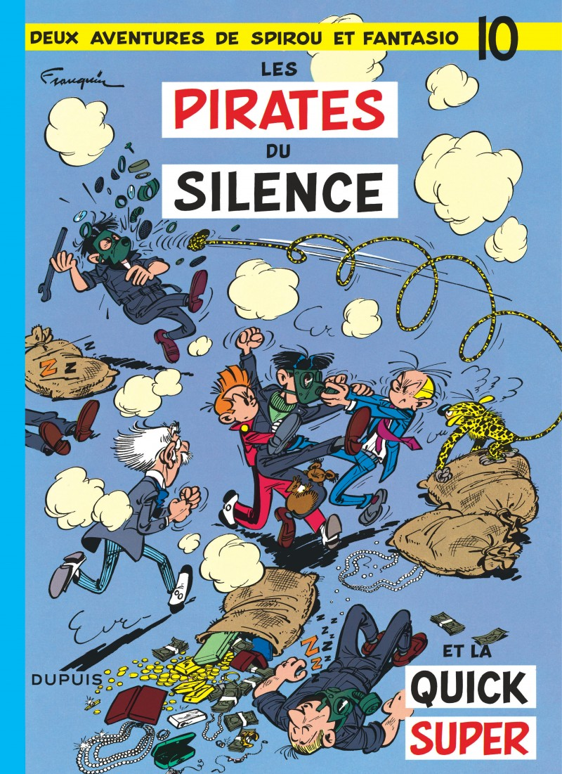 Spirou and Fantasio - tome 10 - Les Pirates du silence