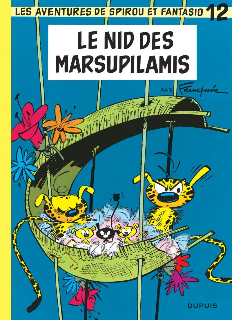 Spirou and Fantasio - tome 12 - Le Nid des Marsupilamis