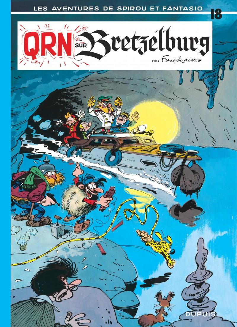 Spirou and Fantasio - tome 18 - QRN sur Bretzelburg