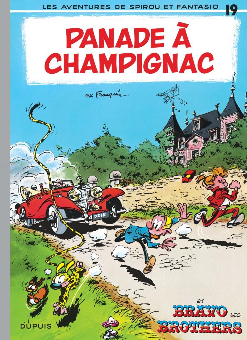 Spirou and Fantasio - tome 19 - Panade à Champignac
