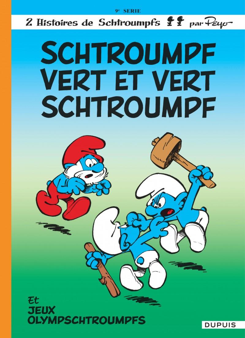 Les Schtroumpfs - tome 9 - Schtroumpf vert et vert Schtroumpf