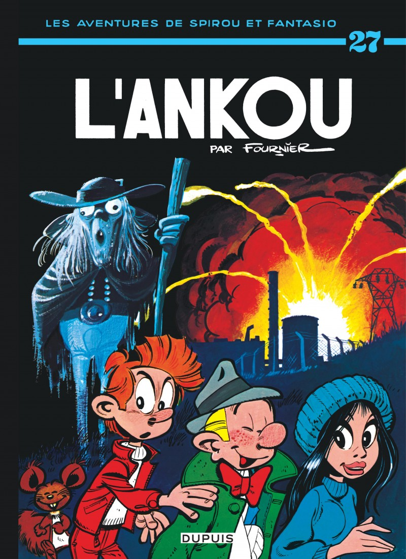 Spirou and Fantasio - tome 27 - L'Ankou