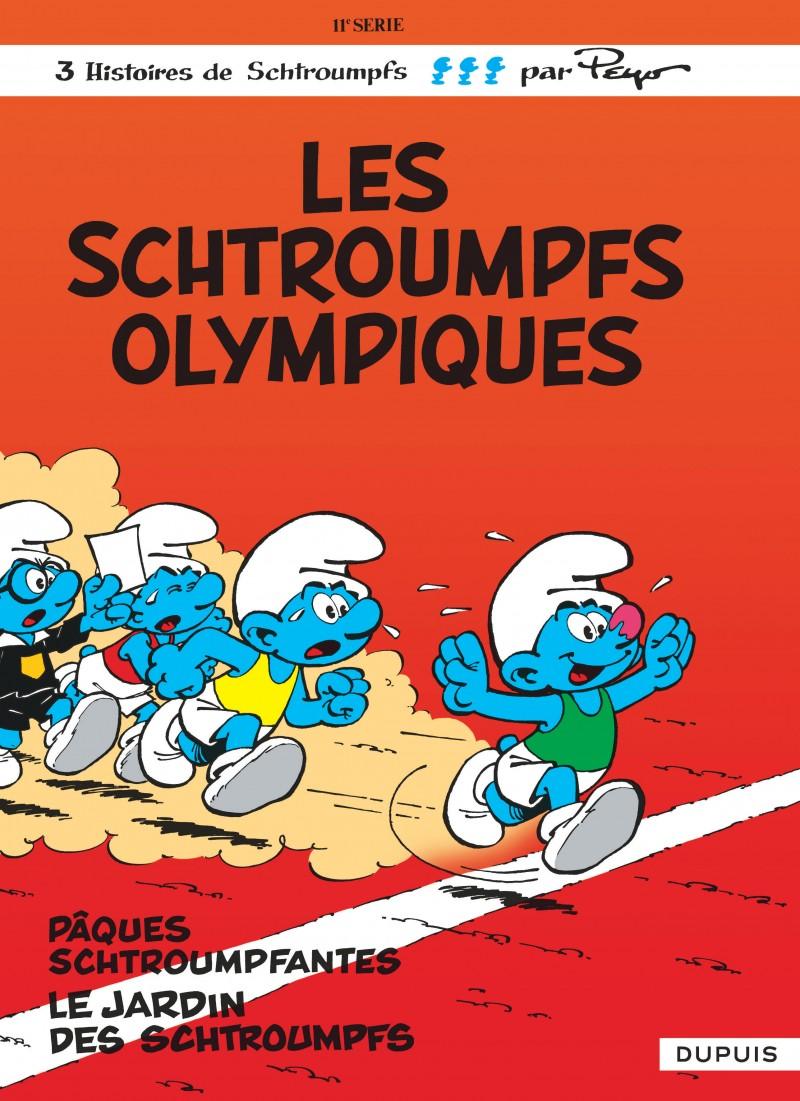 Les Schtroumpfs - tome 11 - Les Schtroumpfs olympiques