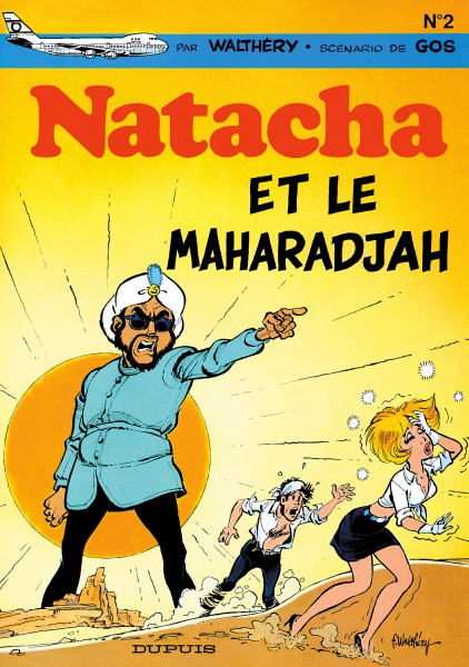 Natacha - Natacha et le maharadjah