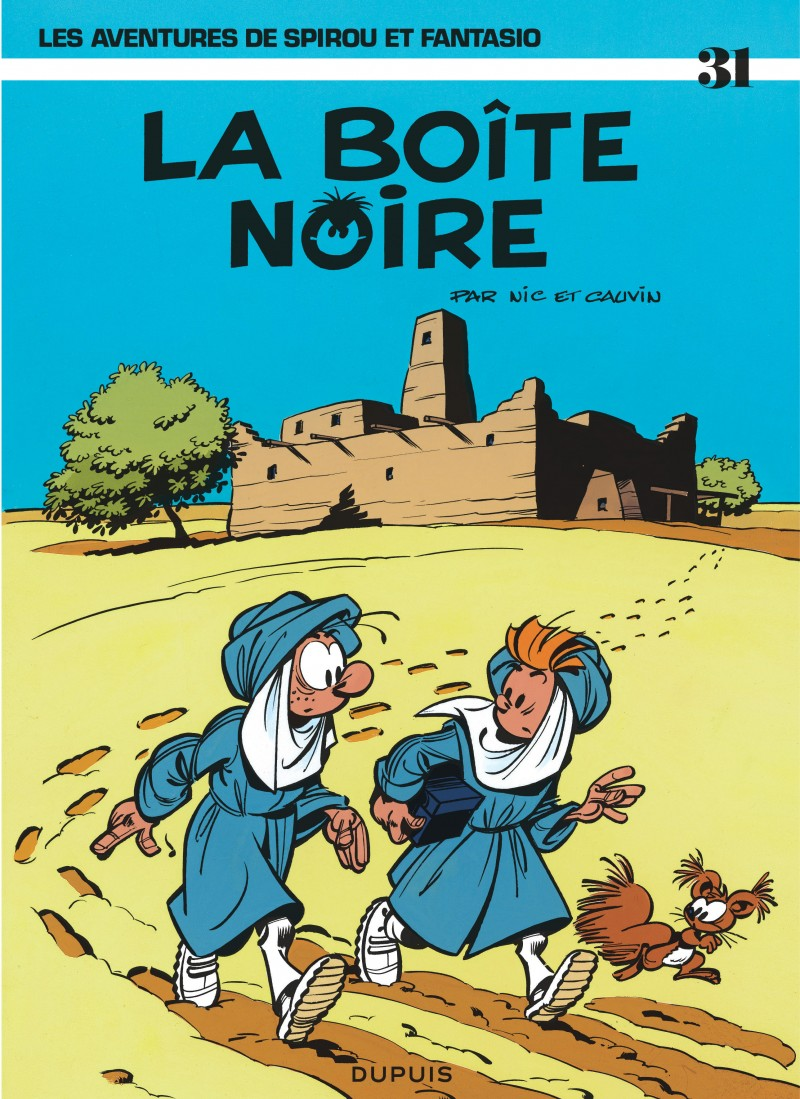 Spirou et Fantasio - tome 31 - La Boîte noire