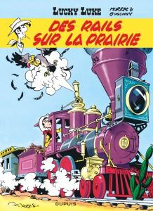 cover-comics-lucky-luke-tome-9-des-rails-sur-la-prairie