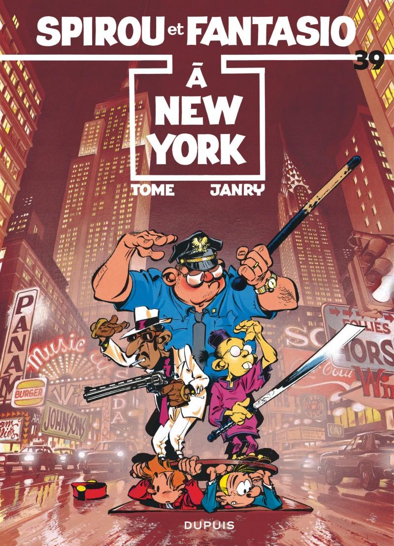 Spirou and Fantasio - tome 39 - Spirou à New York