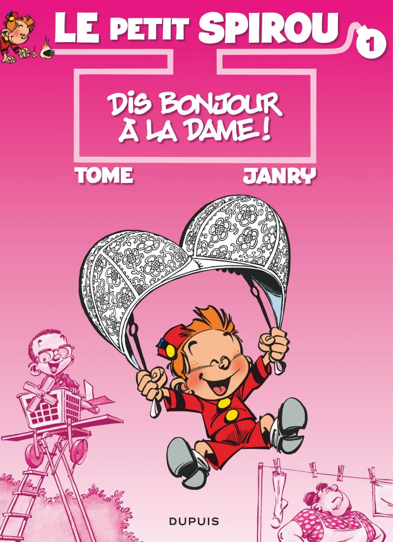 Le Petit Spirou - tome 1 - Dis bonjour à la dame !
