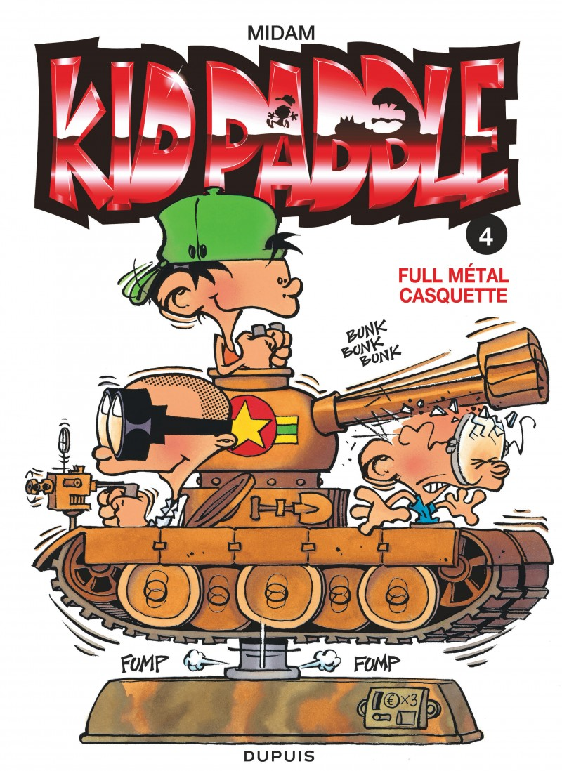 Kid Paddle - tome 4 - Full metal casquette