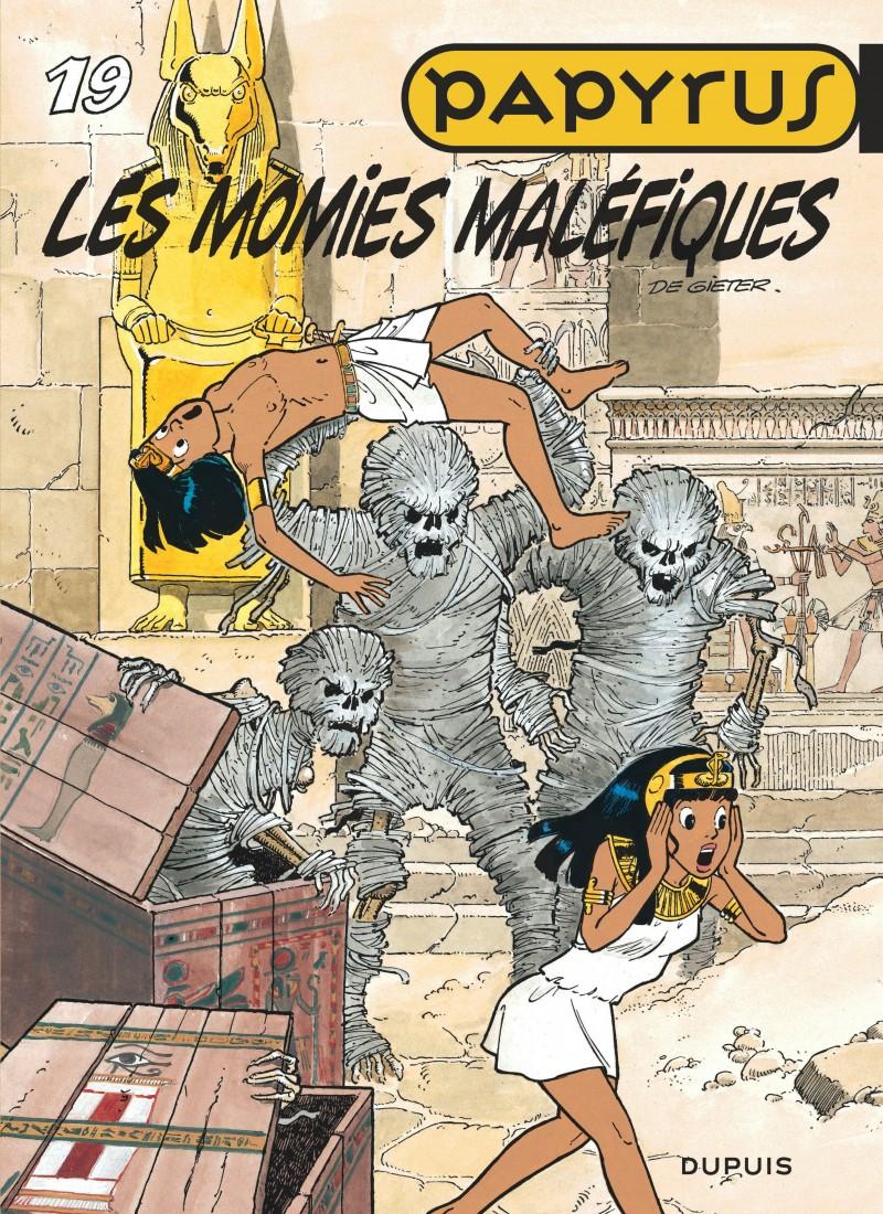 Papyrus - tome 19 - Les Momies maléfiques