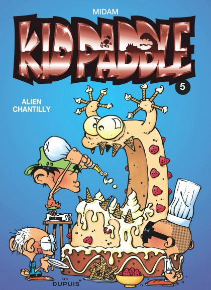 Kid Paddle - Alien chantilly