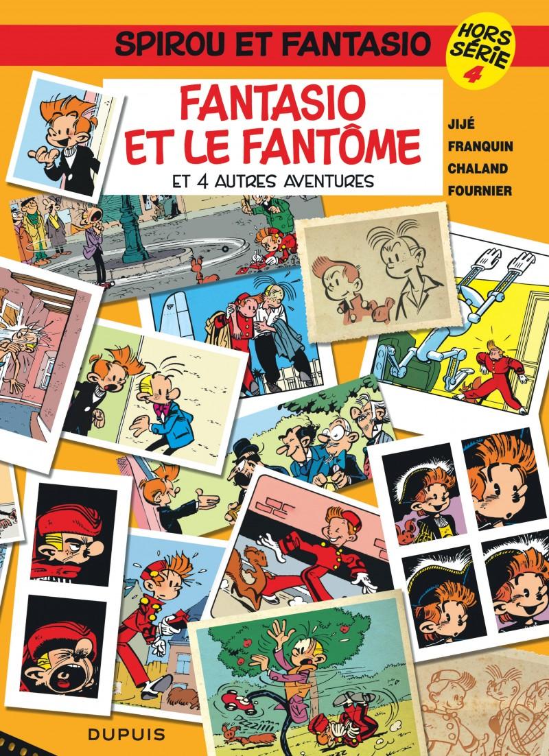 Spirou et Fantasio - Hors-série - tome 4 - Fantasio et le fantôme (et 4 autres aventures)
