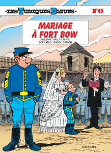 cover-comics-les-tuniques-bleues-tome-49-mariage--fort-bow
