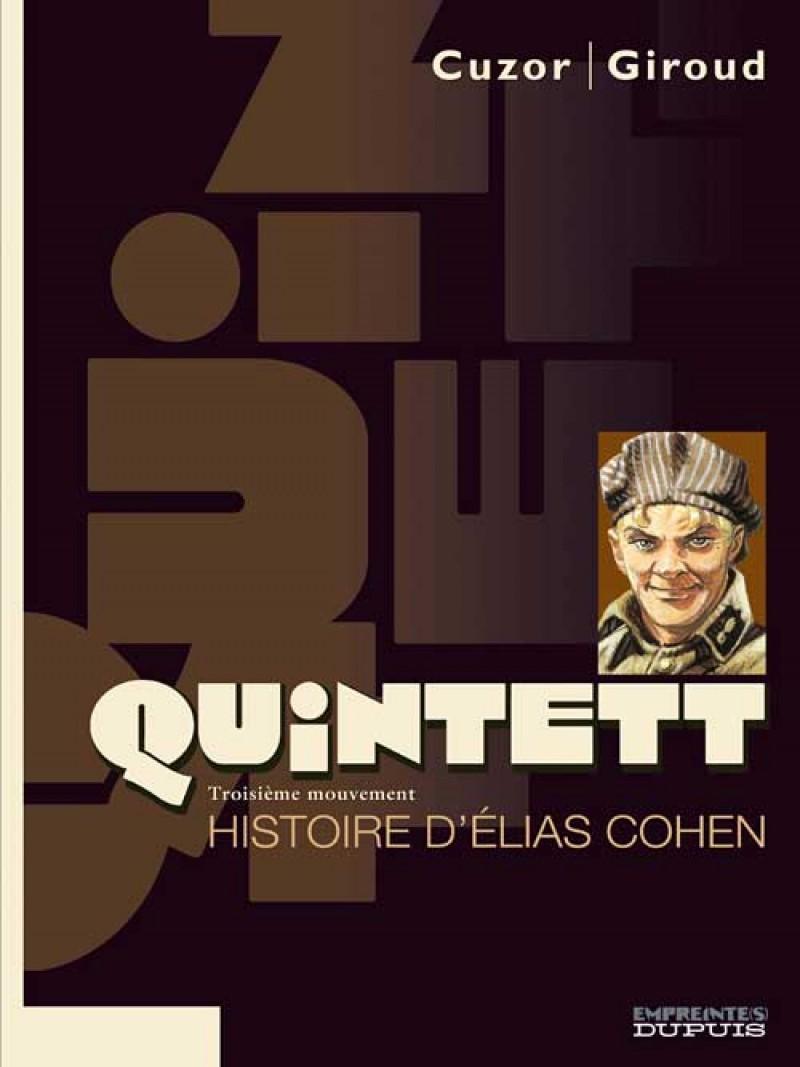 Quintett - tome 3 - Histoire d'Elias Cohen - tome 3/5