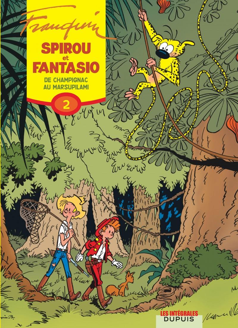 Spirou et Fantasio - Compilation - tome 2 - De Champignac au Marsupilami