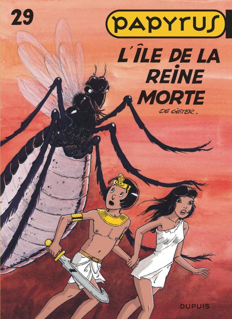 Papyrus - tome 29 - L'île de la reine morte