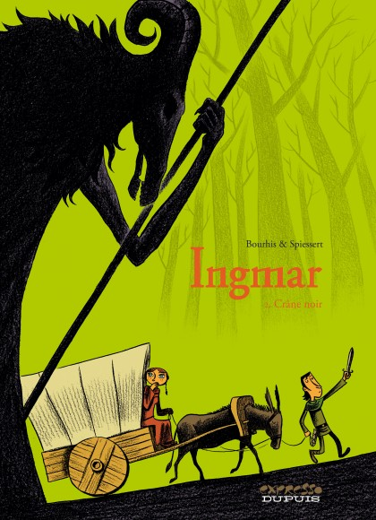 Ingmar - Crâne noir