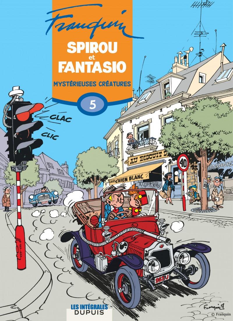 Spirou et Fantasio - L'intégrale - tome 5 - Mystérieuses créatures
