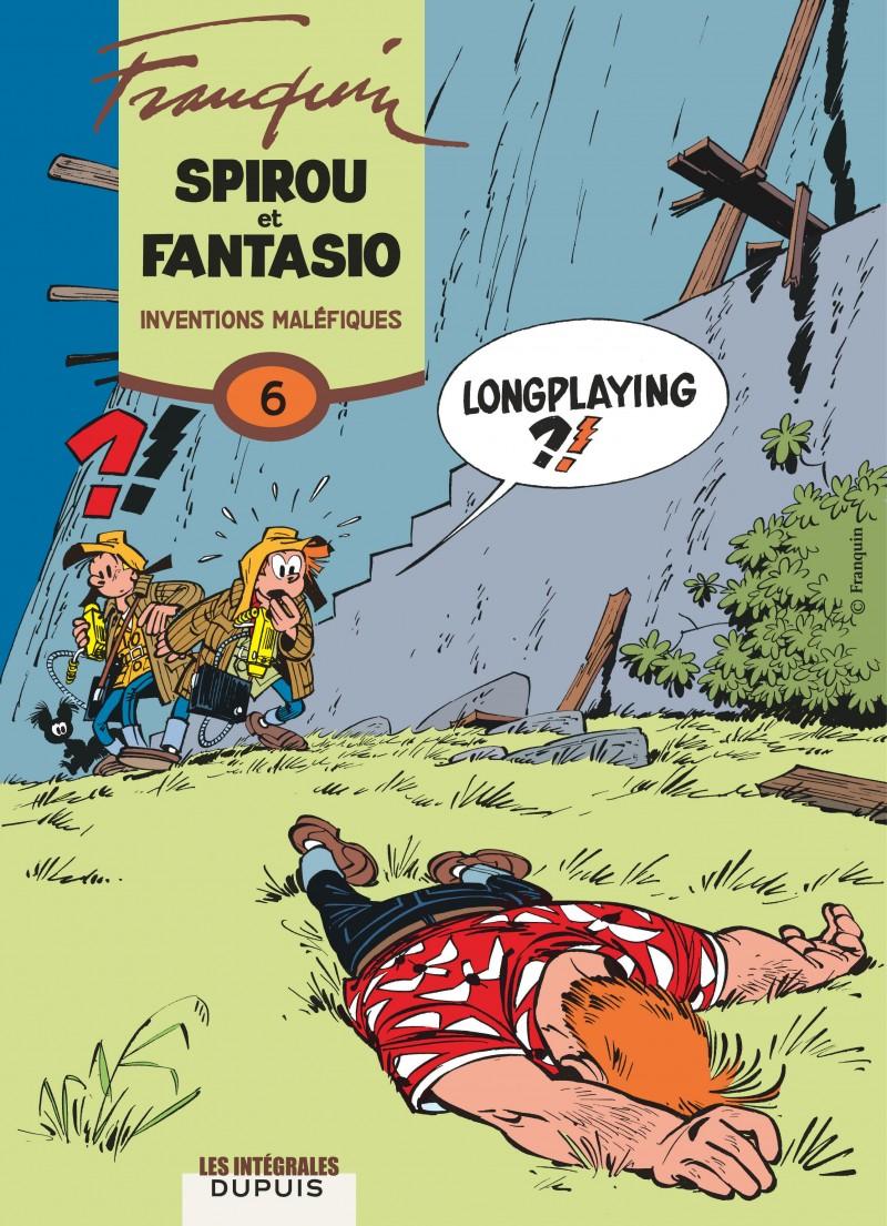 Spirou et Fantasio - Compilation - tome 6 - Inventions maléfiques