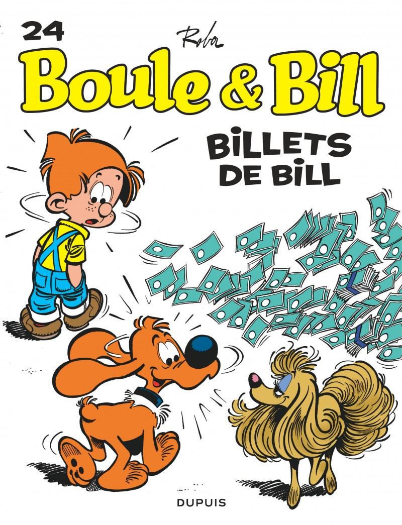 Boule et Bill - tome 24 - Billets de Bill