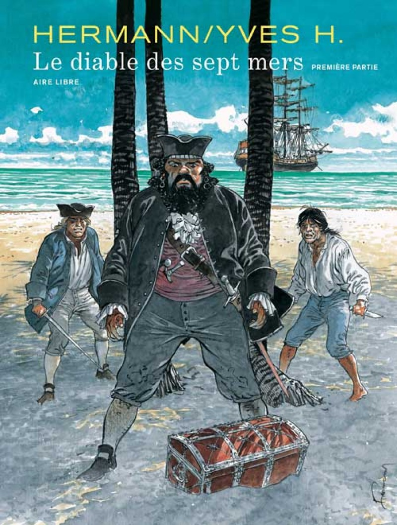 The Devil of the Seven Seas - tome 1 - Le diable des sept mers - 1re partie