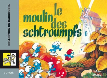 Carrousel - Le moulin des Schtroumpfs