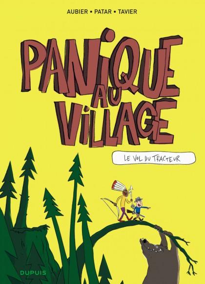 Panique au village - Le vol du tracteur
