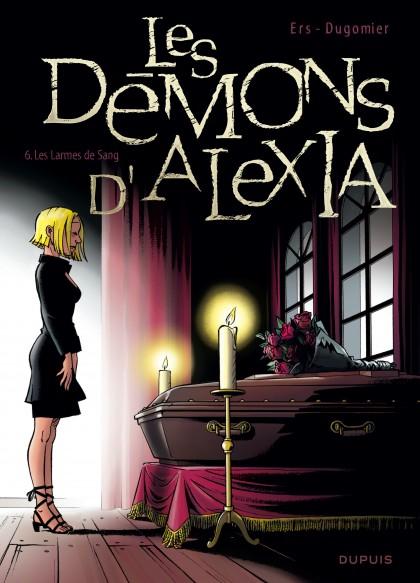 Les Démons d'Alexia - Les larmes de sang