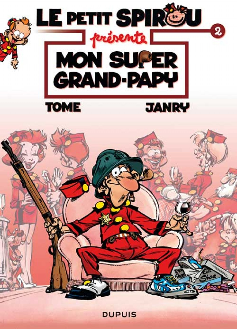 Little Spirou Presents... - tome 2 - Mon super Grand Papy