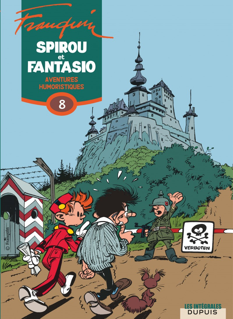 Spirou et Fantasio - L'intégrale - tome 8 - Aventures humoristiques