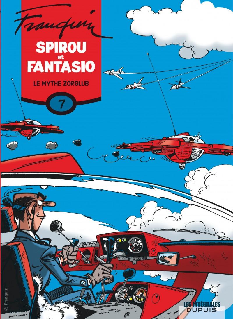 Spirou et Fantasio - L'intégrale - tome 7 - Le mythe Zorglub