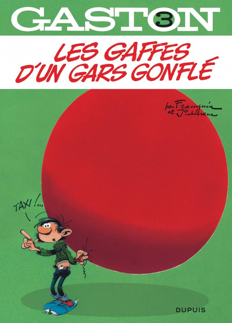 Gaston - tome 3 - Les gaffes d'un gars gonflé