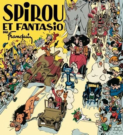 Spirou et Fantasio par Franquin (fac-similé édition 1948) - Spirou et Fantasio par Franquin (fac-similé édition 1948)