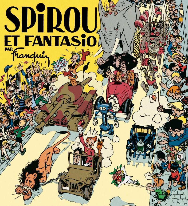 Spirou and Fantasio by Franquin - Spirou et Fantasio par Franquin (fac-similé édition 1948)